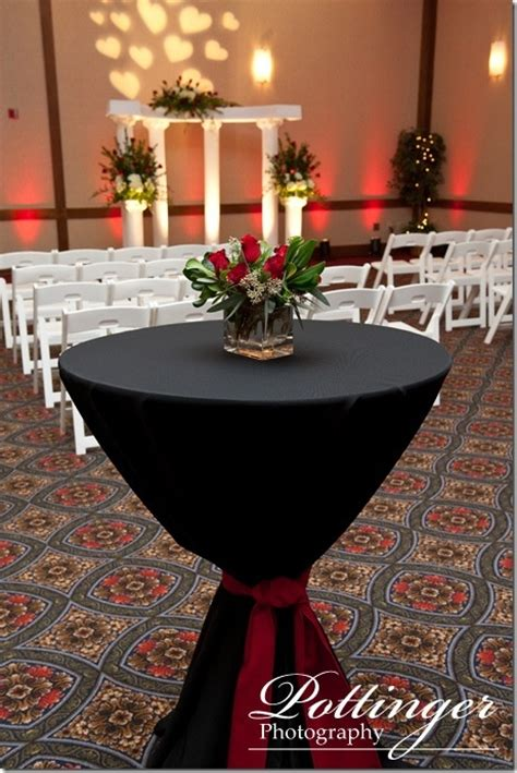 red and black table ls cocktail tables wedding pinterest receptions