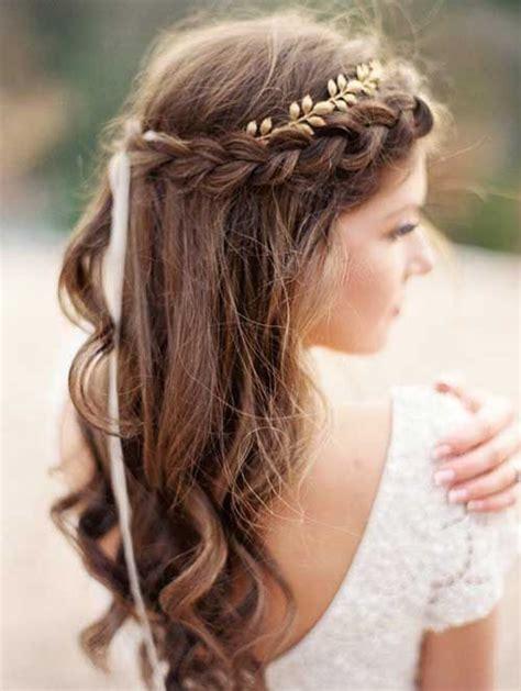 pretty braided hairstyles  wedding wedding hair