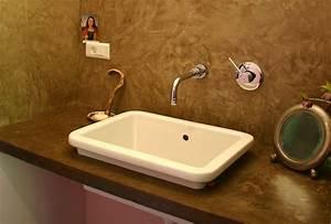 Enduit Béton Ciré : cir brun ~ Premium-room.com Idées de Décoration