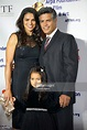 Actor Esai Morales and his wife Elvimar Silva attend the ...
