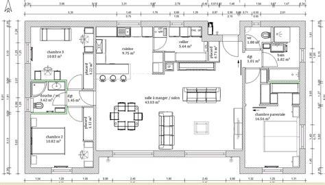 plan chambre revger com plan chambre avec suite parentale id 233 e