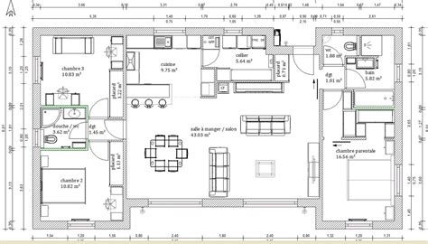 chambre parentale plan chambre parentale maison design sphena com