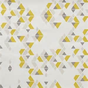 Papier Peint Moutarde Et Gris by Papier Peint Geometrique Triangles Noir Et Blanc Gris