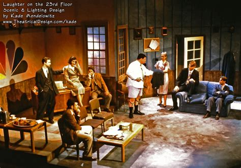 Laughter On The 23rd Floor by Laughter 23flr B22 Theatrical Design