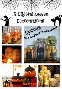 Deco Halloween Diy : halloween decoration ideas diy raum und m beldesign inspiration ~ Preciouscoupons.com Idées de Décoration