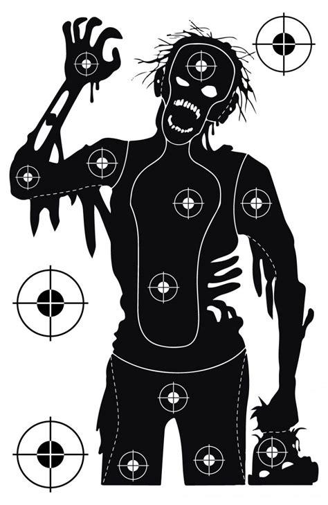 printable zombie targets printable  degree