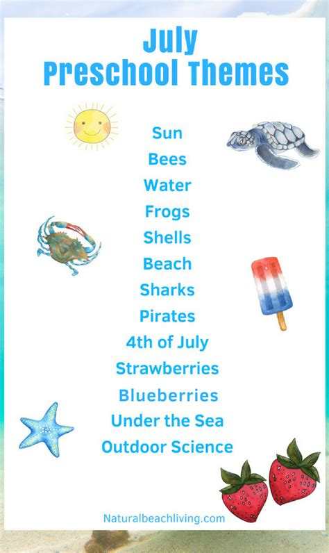 july preschool themes with lesson plans and activities 892 | July Preschool Themes and Activities pin