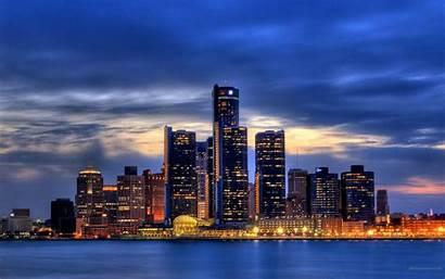 Detroit Skyline Wallpapers