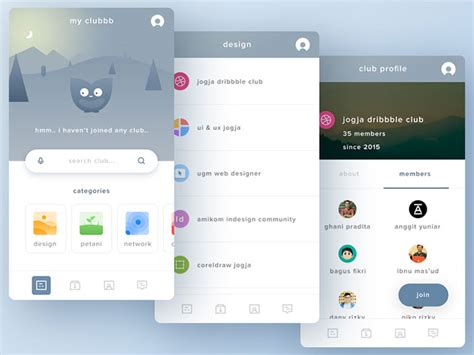 user interface design inspiration 54 ui design exles