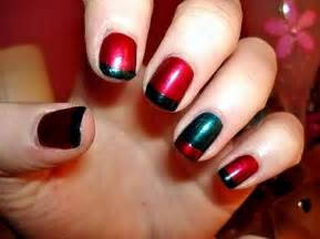 Chevron nails glitter cute simple nailart nailidea naildesigns