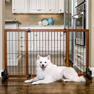 carlson freestanding pet gate large