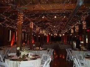 winter wedding venues beautiful winter wedding reception venue with sparkling lights all around onewed