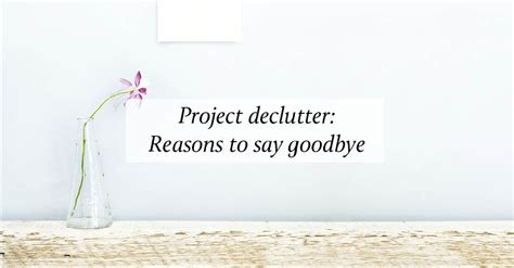 Breathe Project Declutter  Breathe Magazine  Mindfulness