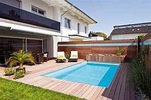 Kleiner Pool Für Terrasse : die ideale gr e und tiefe des pools und schwimmbeckens ~ Orissabook.com Haus und Dekorationen