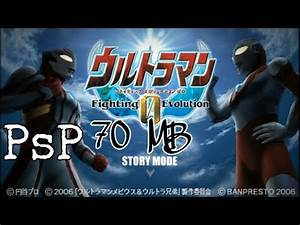 Ultraman fighting evolution Psp Android Free Download ...