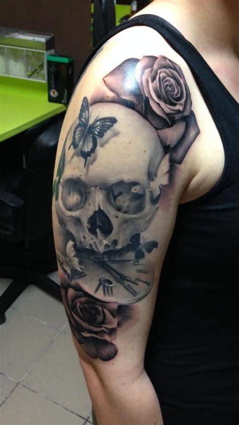 images   tattoo love  pinterest clock york uk  tiger tattoo