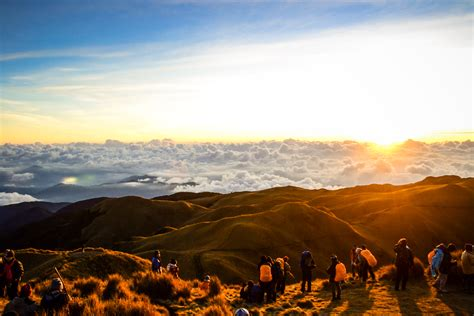 Reaching the Summit of Mt. Pulag