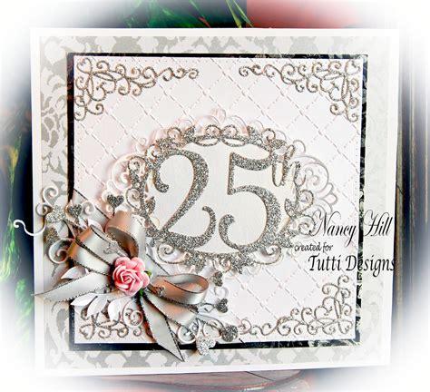 Tutti Designs: 25th Anniversary Card