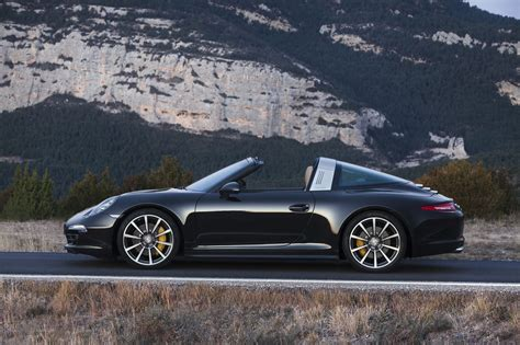 porsche sports car black 2015 porsche 911 targa 4s side photo black color size