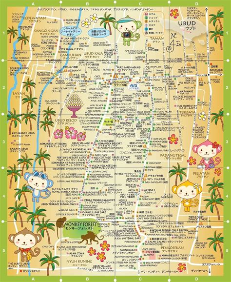 map  ubud    world