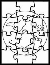 Coloring Printable Autism Awareness Ekologia Puzzle Dzieci Dla Template Templates Chomikuj sketch template