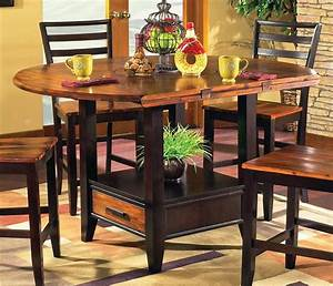 Abaco, Drop, Leaf, Counter, Height, Storage, Table, -, Walmart, Com