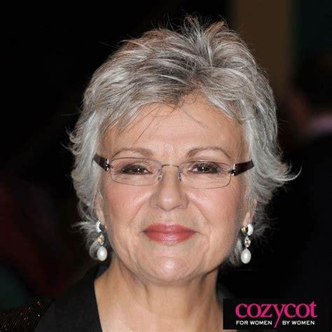 hairstyles for women over 70 gray hair glamor bank