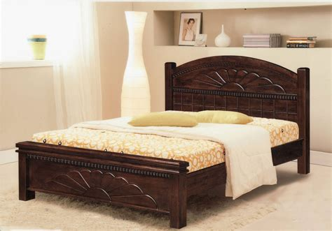 Wood Bed For Charming Bedroom