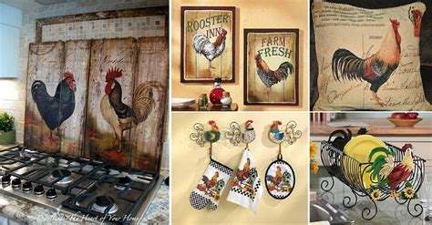 Chicken Decorating Ideas For The Kitchen by Rooster Home Ideas