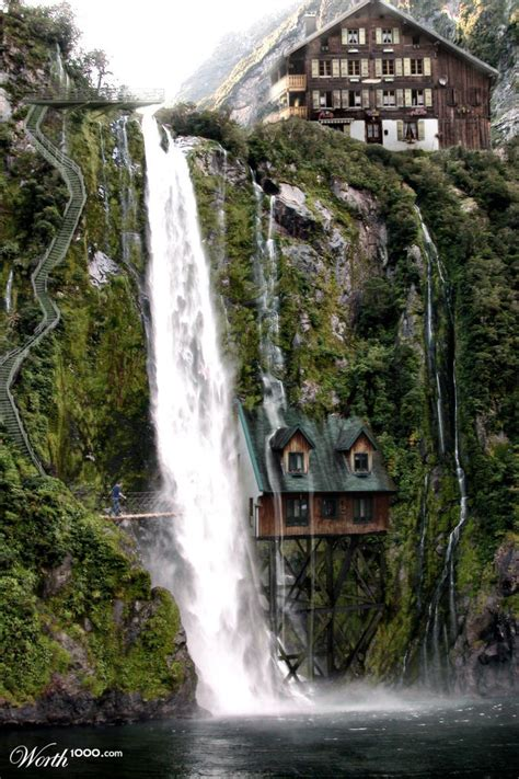 waterfalls in home waterfall house worth1000 contests