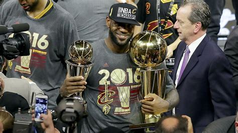 LeBron James of Cleveland Cavaliers named unanimous NBA ...