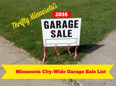 garage sales mn planning a garage here s what to do with those