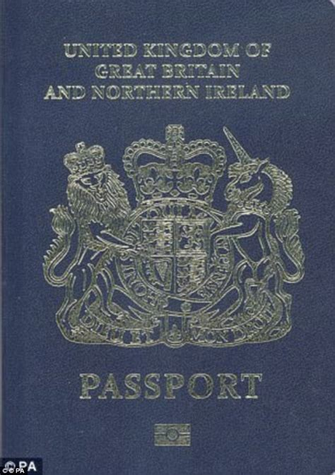 blue passports   delays  uk travellers daily mail