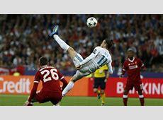 Real Madrid vs Liverpool Bale scored a sensational