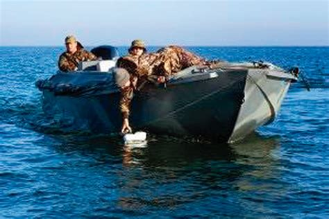 Duck Boat In Water by Great Boats And Mud Motors For Waterfowlers Next Season Wi
