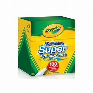 Super Tips Washable Markers, 100 ct - Crayola Store