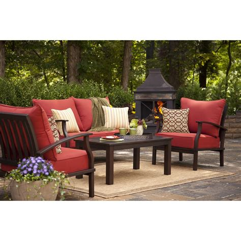 lowes patio furniture patio cozy outdoor furniture design with allen roth