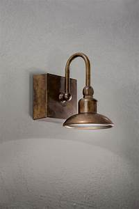 Applique Murale Cuivre : applique murale cuivre et laiton patin support carr ~ Melissatoandfro.com Idées de Décoration