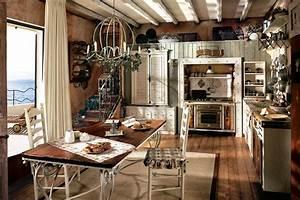 Rustikale kuchen landhaus edle landhauskuchen for Rustikale küchen