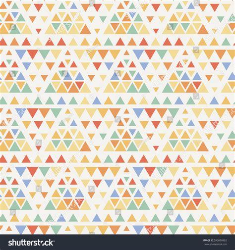 seamless triangle halftone gradient pattern geometric stock vector 590890982