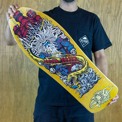 jason jessee mermaid deck jason jessee neptune ii reissue deck yellow in stock at