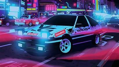 4k Wallpapers Pc Neon Desktop Cars Cyberpunk