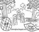 Night Garden Coloring Haahoos Drawing Easy Patio Colouring Cbeebies Printable Template Cartoon Tombliboos Colour Activities Beginners Magical Jumping Play sketch template