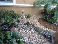 FLA Rock Garden Tropical Landscape Landscaping Ideas Mulch Landscaping Ideas With Stone Stone Pathway Leading To Natural Stairs Located At Garden Decorating Ideas With Rocks And Stones Architecture Design