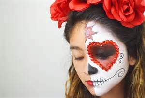los angeles makeup schools day of the dead painting tutorial for kids