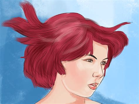 How To Dye Hair Bright Red 13 Steps With Pictures Wikihow