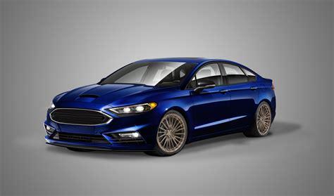 fusion sport  join modified ford fleet  sema