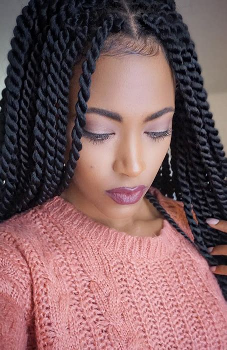 Big Twists Hairstyles by 27 Chic Senegalese Twist Hairstyles For The Trend