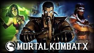 Mortal Kombat X: Shang Tsung, & Mileena Announced ...