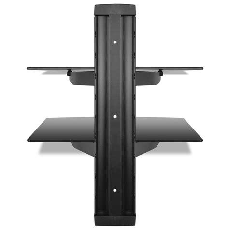 Montaggio Mensole Articoli Per Supporto Con 2 Mensole Di Vetro Montaggio A